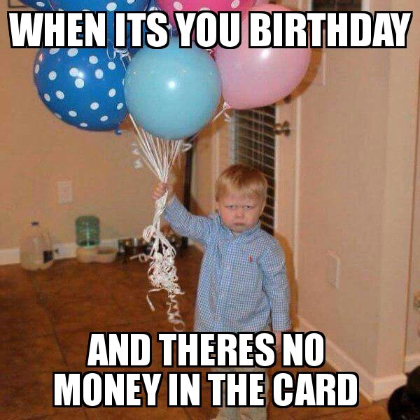 whats in the card......money ni**a dayum - meme