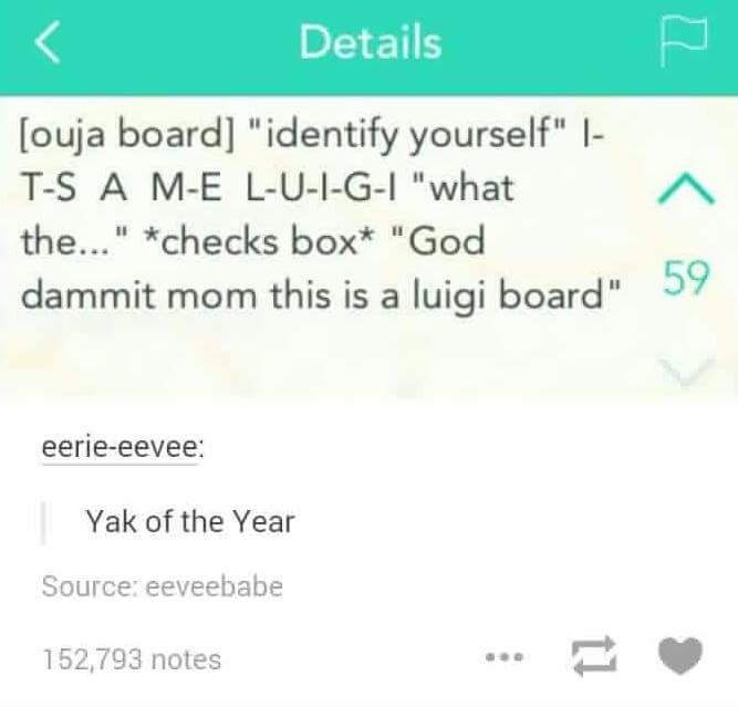 4th comment is LuigiKid - meme
