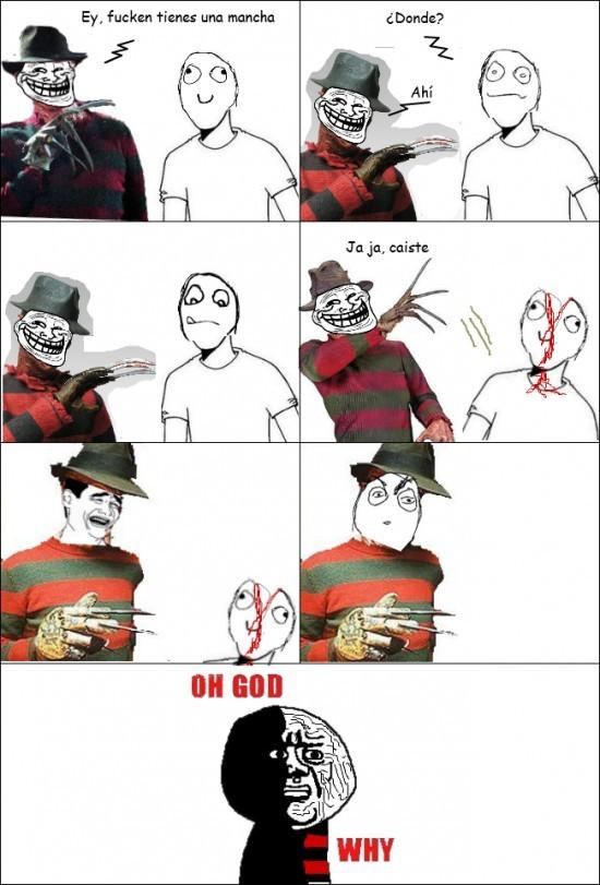 Pobre Freddy - meme