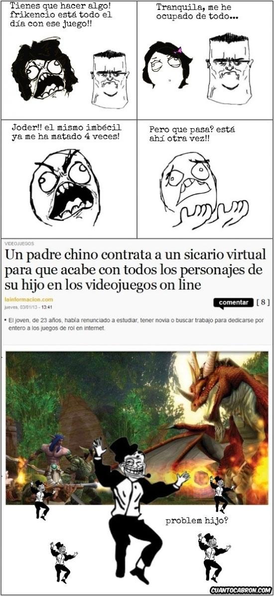 Cyber Sicario - meme