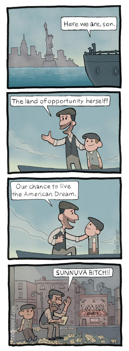living the American dream - meme