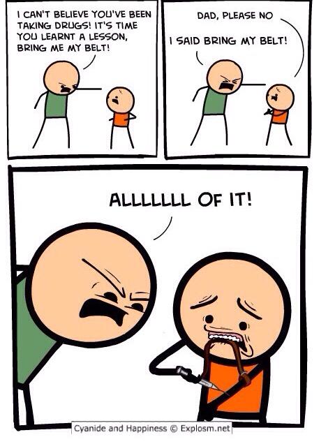No dad, not again! - meme