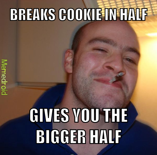 Share the cookies - meme