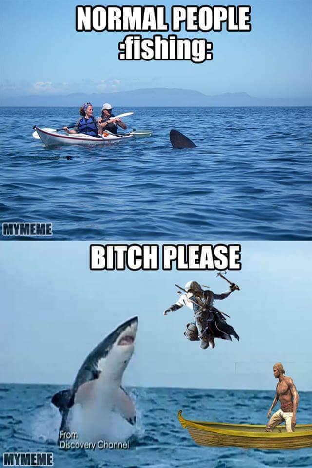 Fishing For Gamers - meme