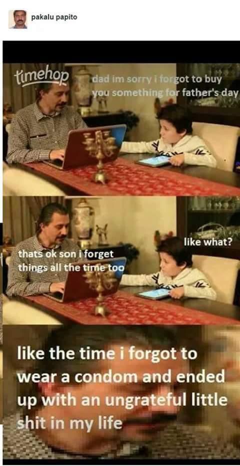 Why dad - meme