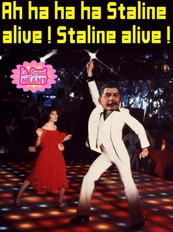 Hahahaha staying alive - meme