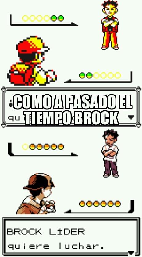 ... Brock - meme