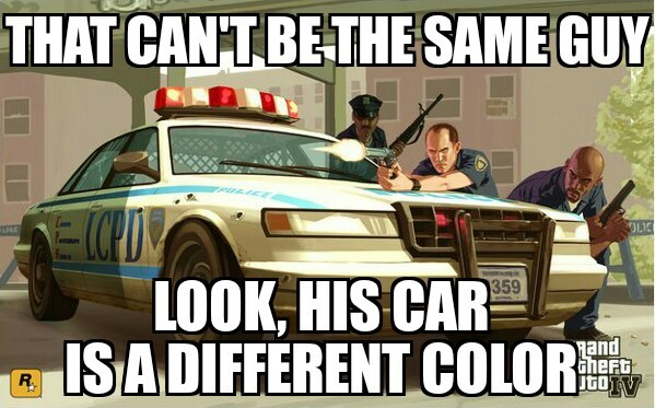 Basically, GTA Cops - meme