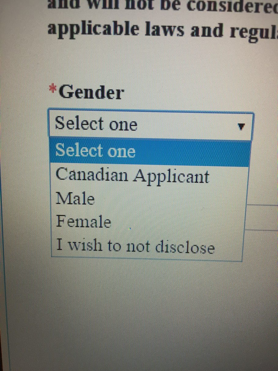do Canadians have genitals? - meme