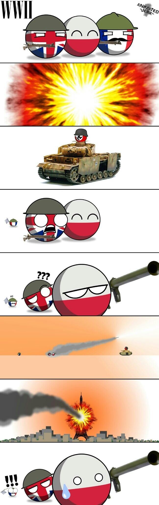 Pô Polônia, fudeu com a França!!!! :yaoming: - meme