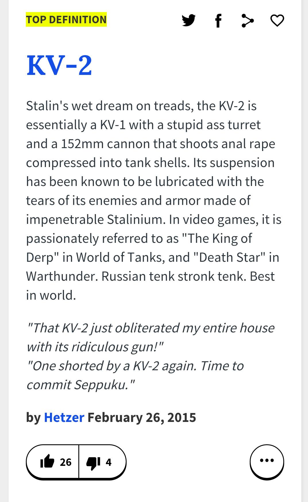 KV-2 - meme