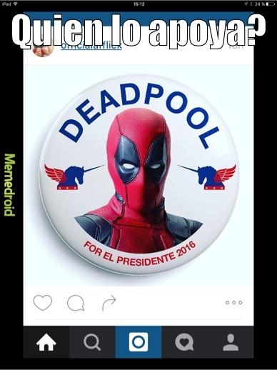 yo voto por el - meme
