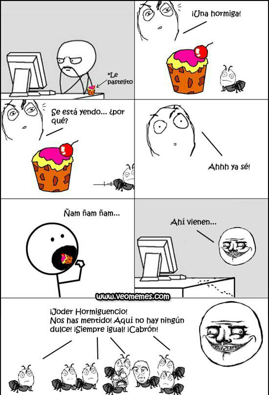 Hormigas - meme