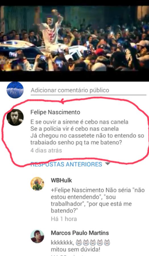 Baile de favela - meme
