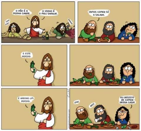 Eo pepino Jesus? - meme