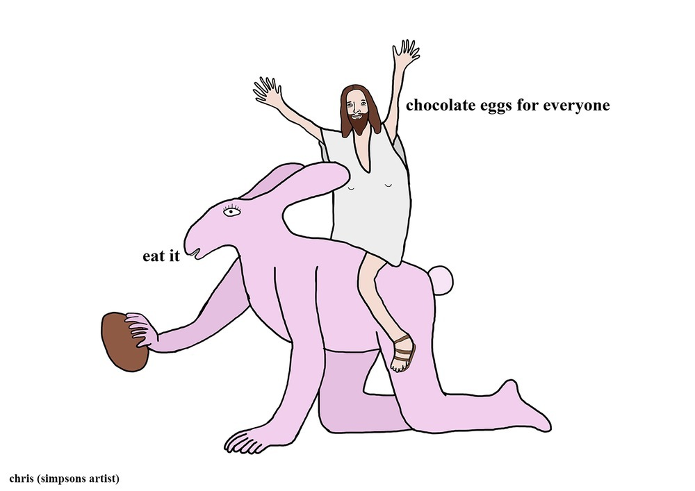Its almost Easter my friends - meme