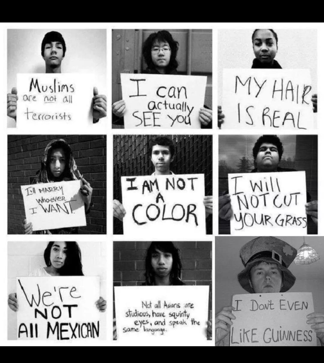 Stereotypes....Us Irish - meme