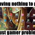 Gamer problems. Not my desktop, btw