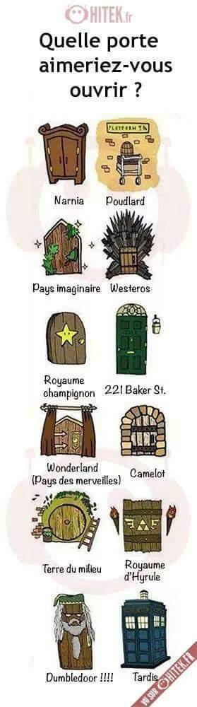 La porte. - meme