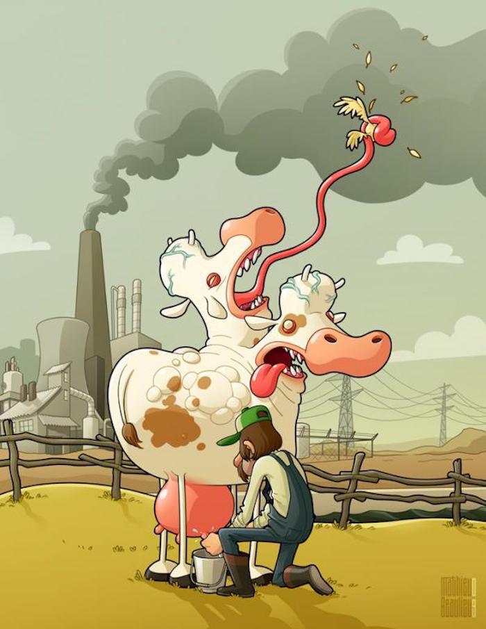 Vacas dentro de unos años... - meme