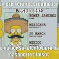 Homero gran hombre mejor Mexicano