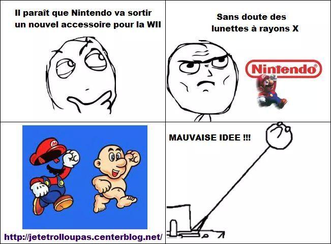 Nouvelle invention de Nintendo - meme