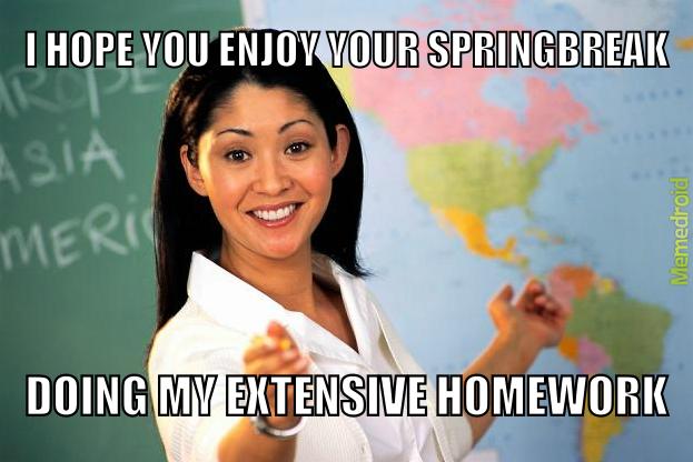 Teachers -.- - meme