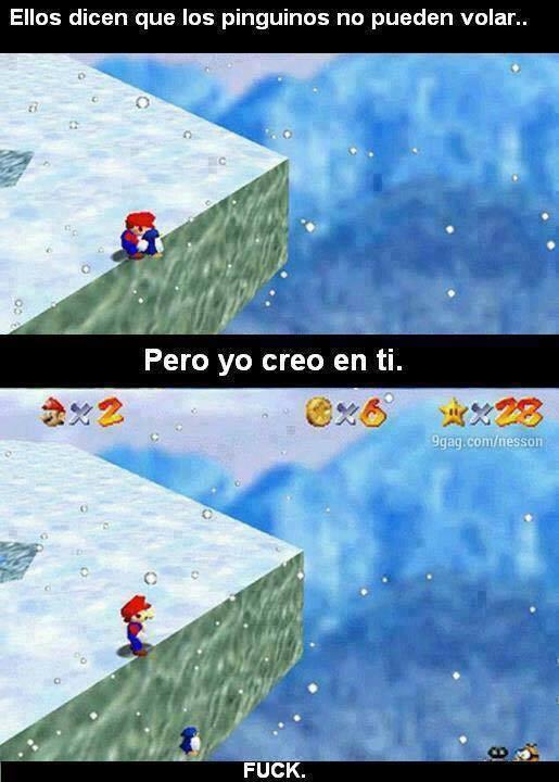 Mario why? - meme