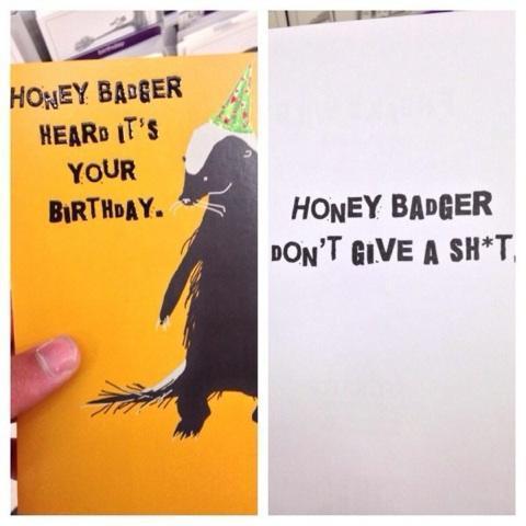 Honey Badger! - meme