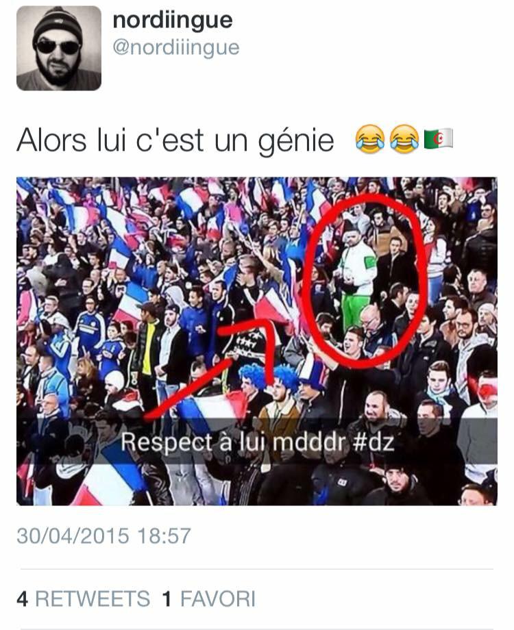 Ils sont fou c algérien - meme