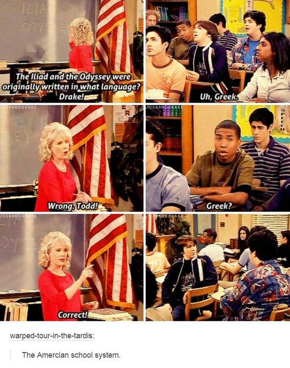 School these days - meme