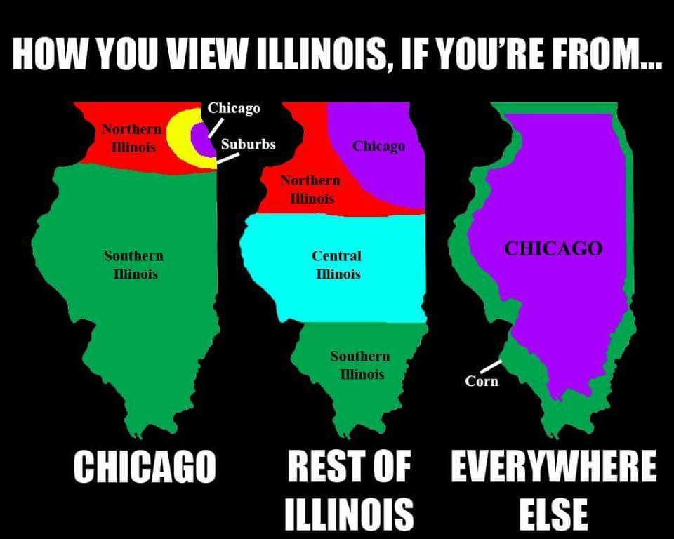 Illinois deep dish is literally Jesus - meme