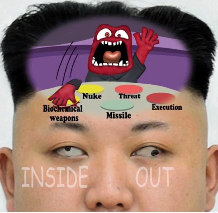 Reality behind Kim Jong Un - meme