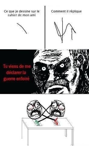 la guerre des stylos ! - meme