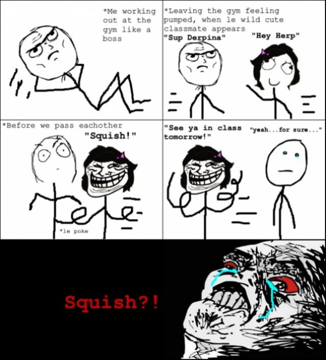 squish - meme