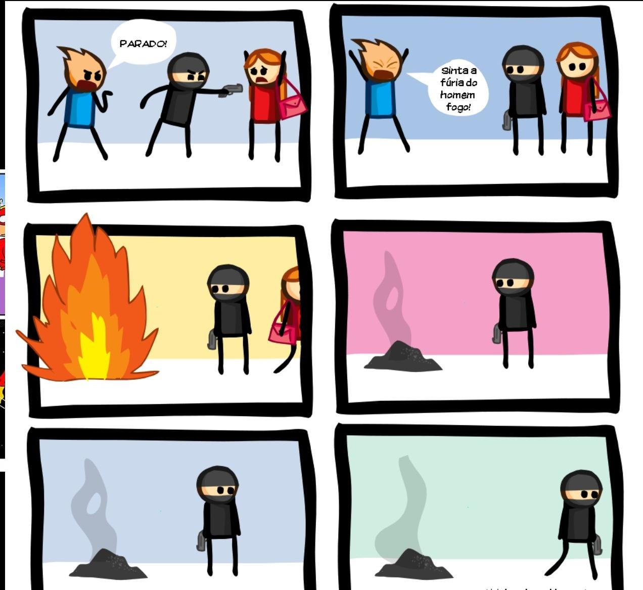 esta pegando fogo bicho - meme