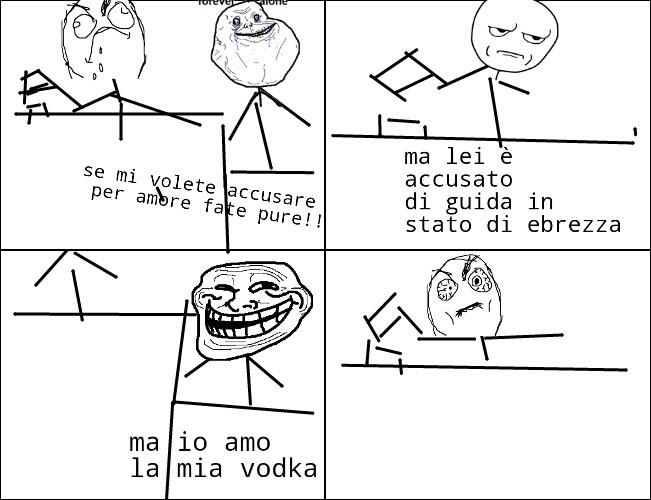 In tribunale! - meme