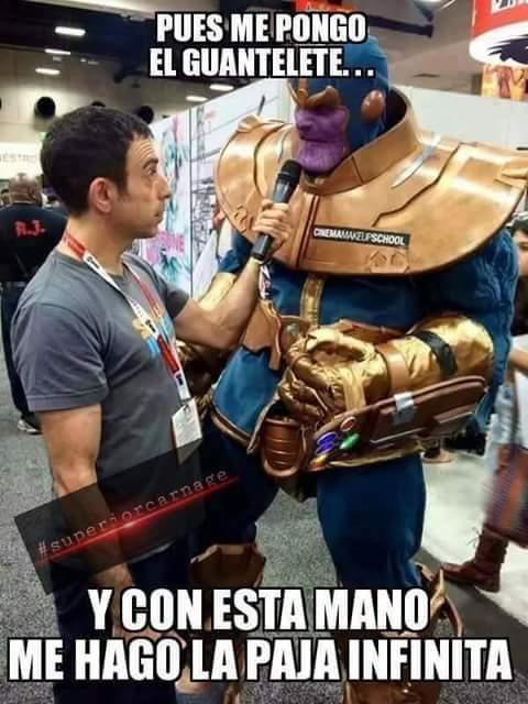 Avengers: Infinity FAP - meme