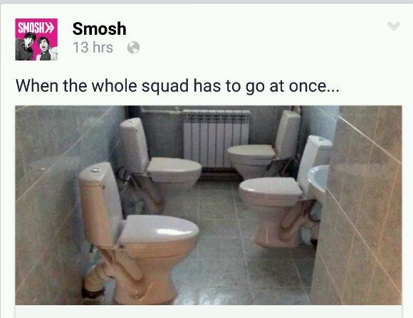 Squad goals?? - meme