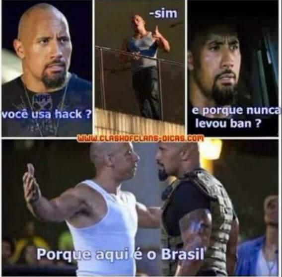Aqui é o Brasil  - meme