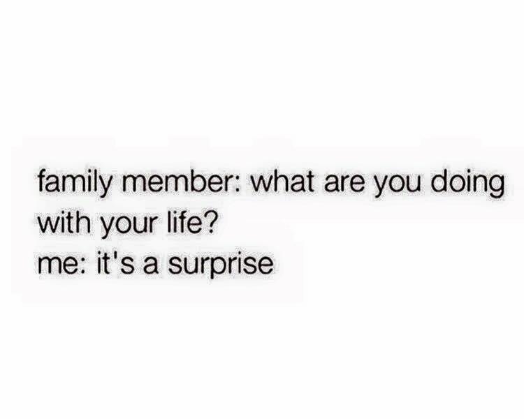 Talking to aunt Debbie like - meme