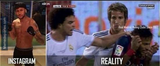 Neymar es el Justin Bieber del fútbol - meme