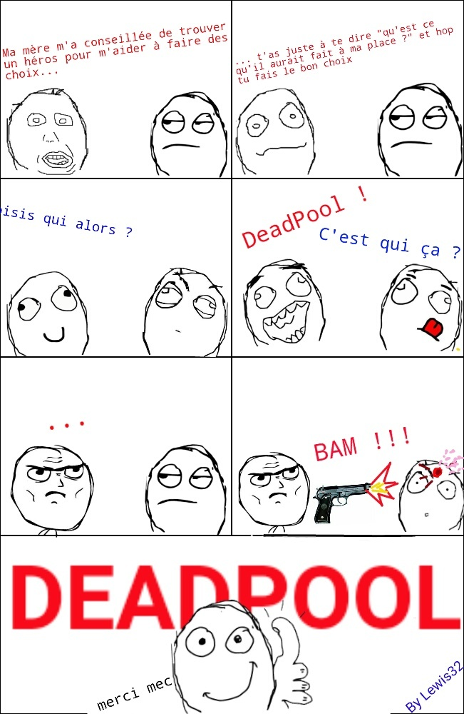 Captain Deadpool ! - meme