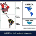 América is a whole continent