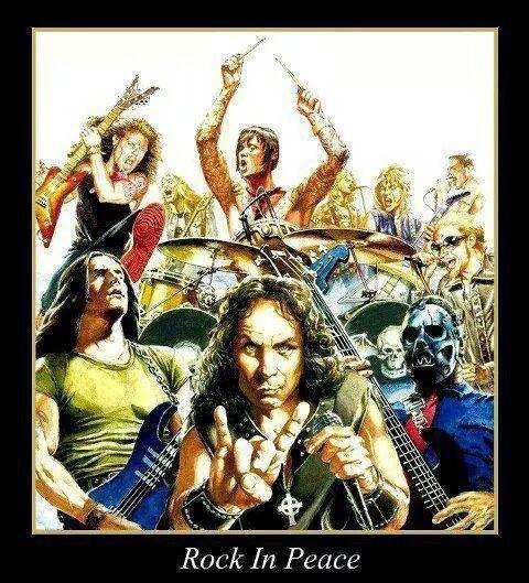 Rock in peace lml - meme