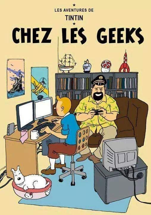 Tintin - meme