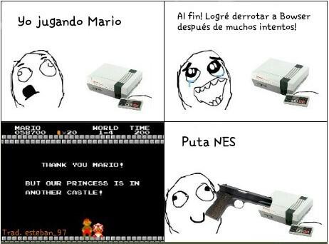 Puta NES............... :I - meme