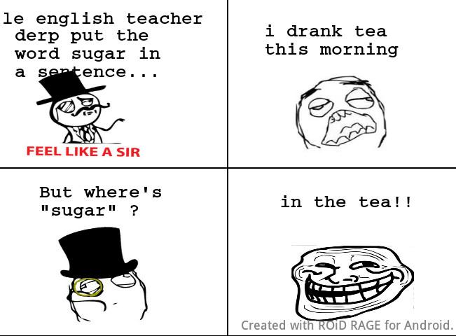 Sugar - meme