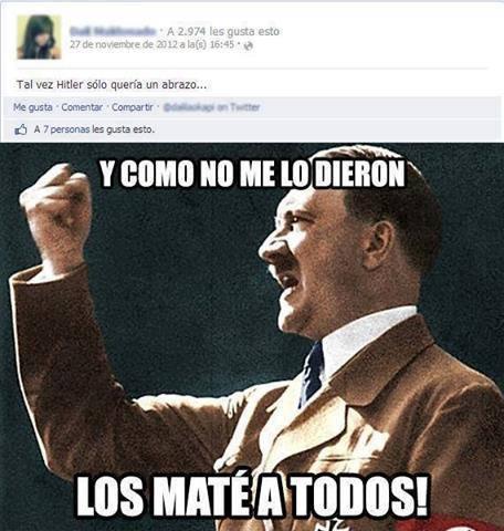 Wau!!, q ignorancia la del facebook - meme