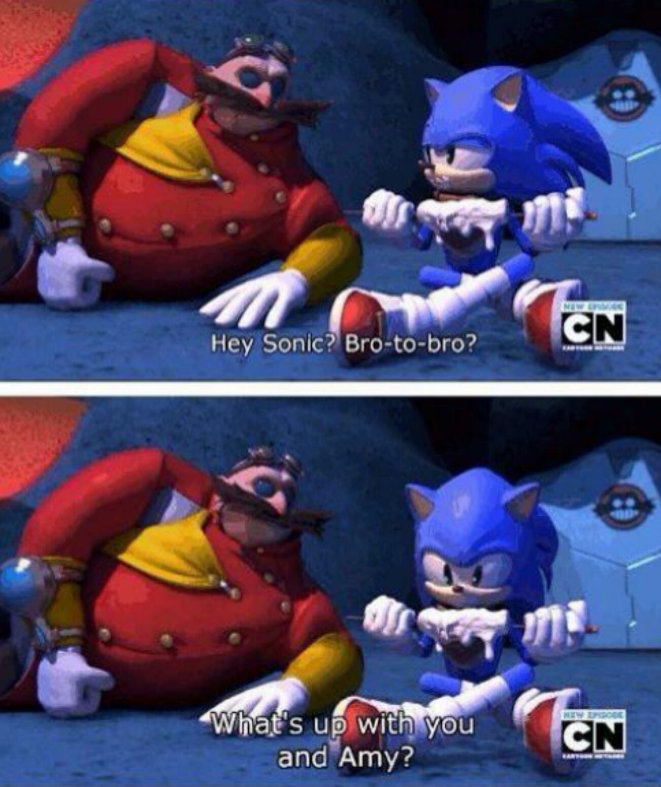 So I just started watching Sonic Boom - meme